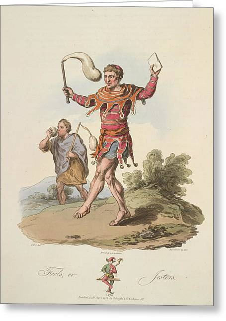 Fools Greeting Card by British Library