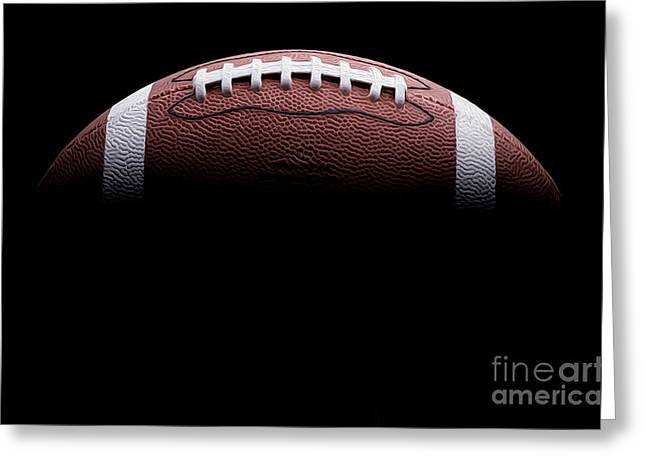 Football Painting Greeting Card by Jon Neidert