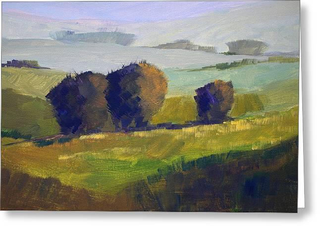 Foothills Landscape Greeting Card