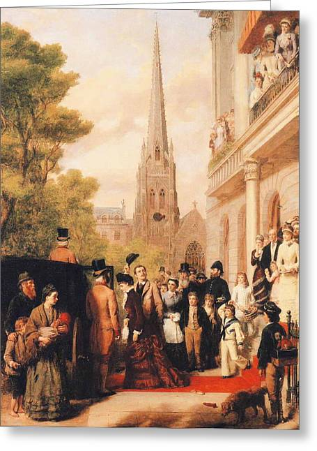For Better For Worse Greeting Card by William Powell Frith