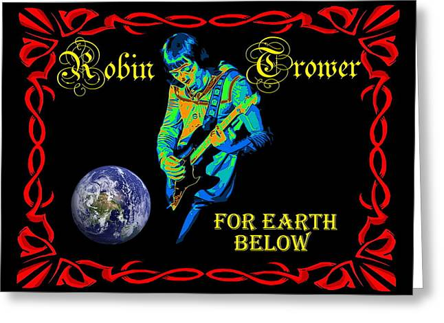 For Earth Below #1 Greeting Card
