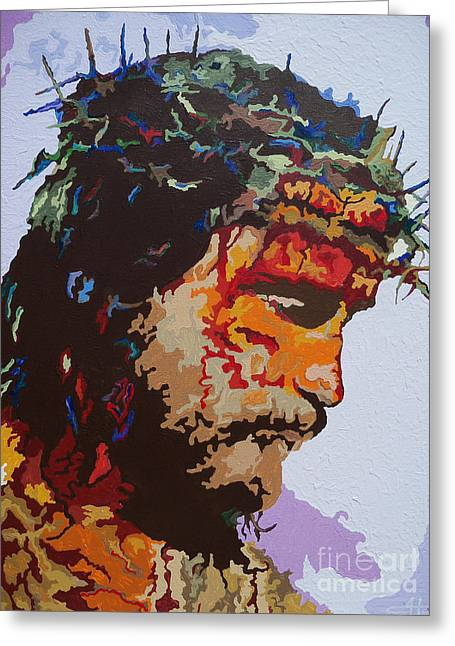 For He So Loved -jesus Greeting Card