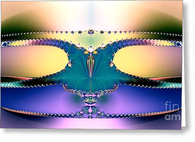For Her Majesty Greeting Card by Renee Trenholm