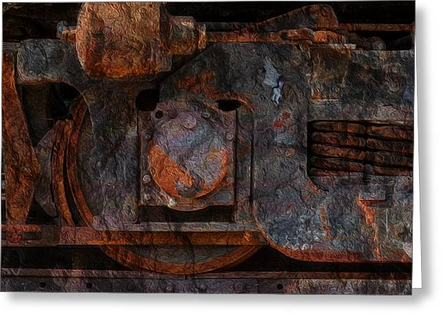 For The Love Of Rust 2 Greeting Card by Jack Zulli