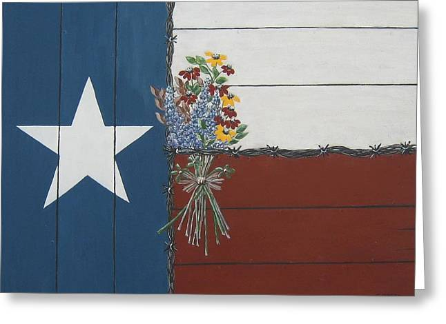 For The Love Of Texas Greeting Card