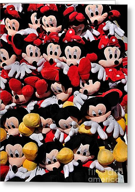 For The Mickey Mouse Lovers Greeting Card by Kaye Menner