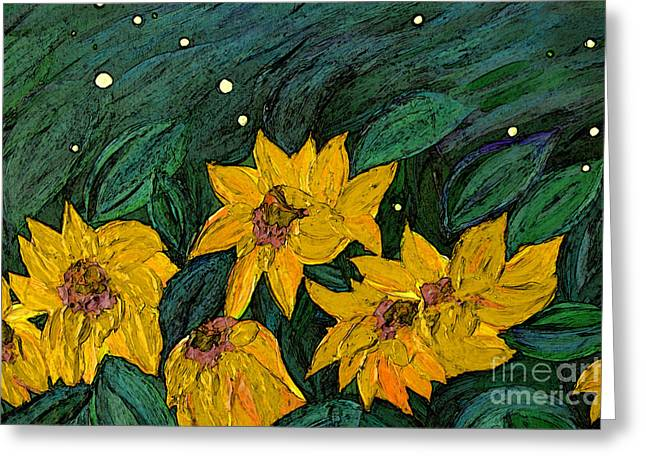 For Vincent By Jrr Greeting Card by First Star Art