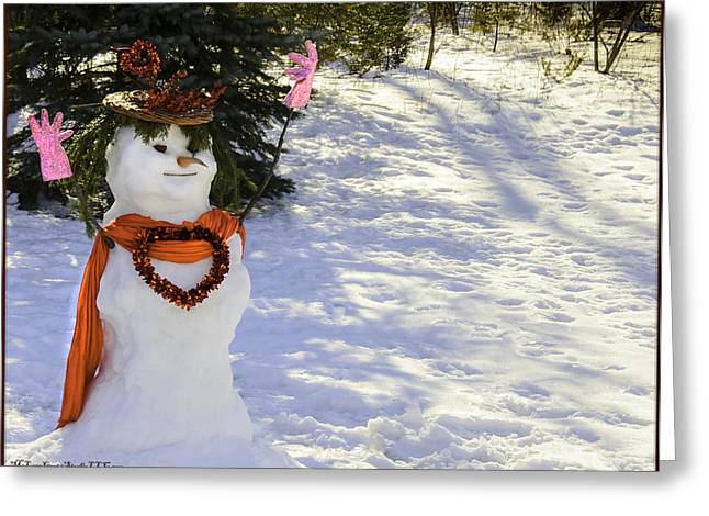 For Your Winter Love Greeting Card