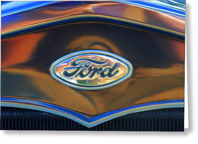 Ford 001 Greeting Card