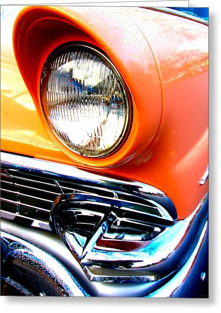 Ford 3 Greeting Card by Amanda Stadther