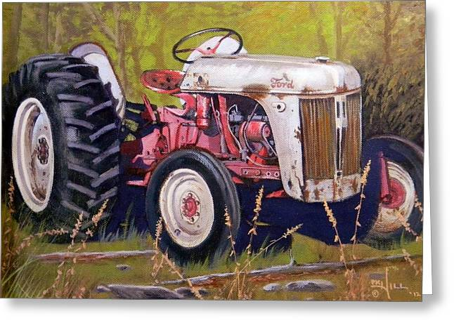 Ford 8n Greeting Card