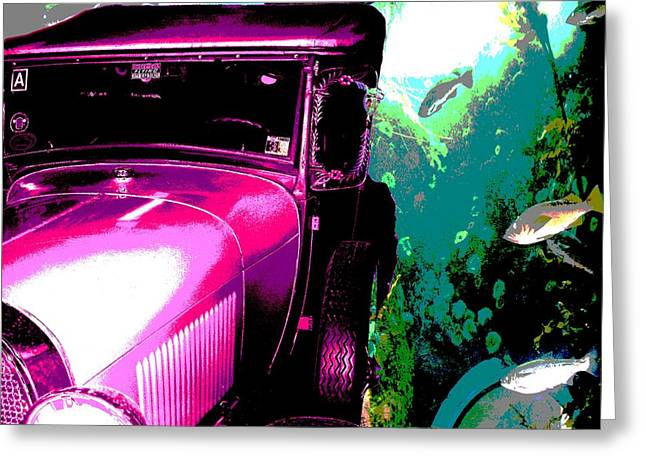 Ford A - Plantation 2 Greeting Card by Marcello Cicchini