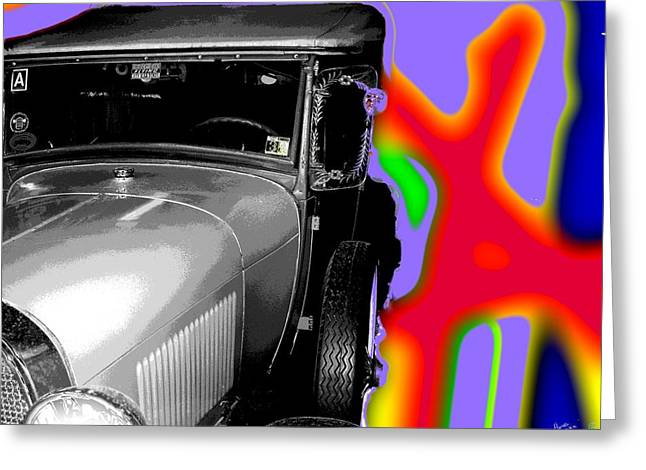 Ford A - Plantation Greeting Card by Marcello Cicchini