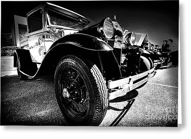Ford Antique Cars Greeting Card by Danny Hooks