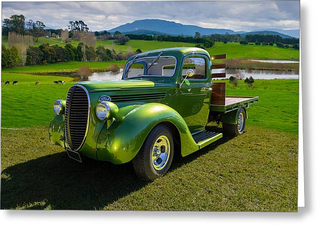 Ford Barrel Nose Pickup Greeting Card