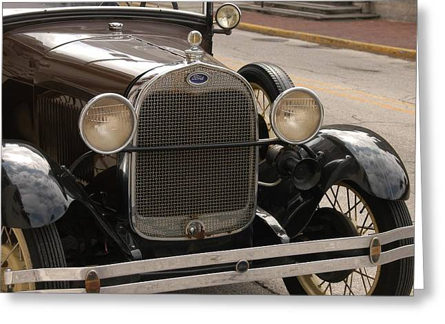 Ford Convertible 02 Greeting Card