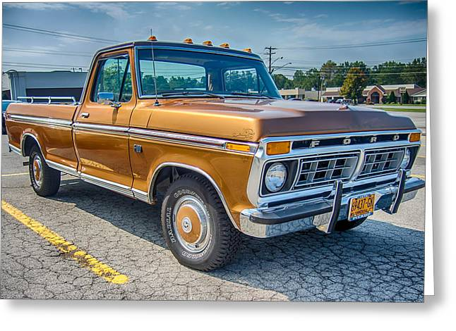 Ford F-100 7p00531h Greeting Card