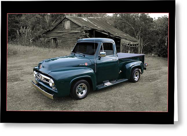 Greeting Card featuring the photograph Ford F100 by Keith Hawley