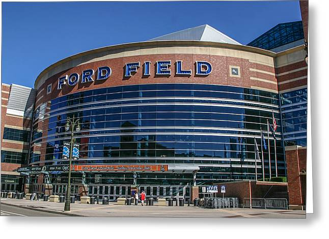 Ford Field  Greeting Card