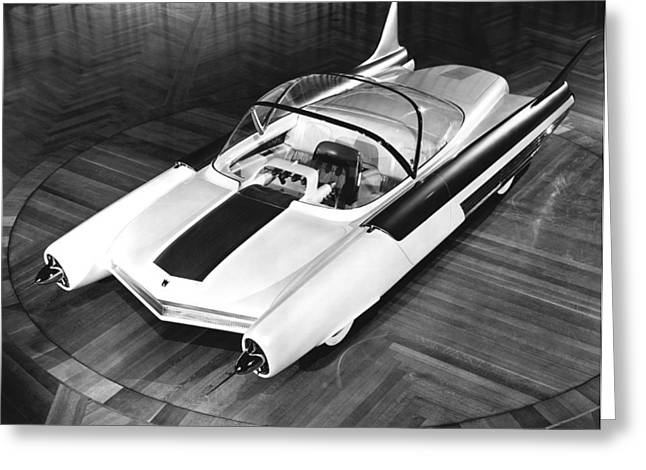 Ford Fx-atmos Concept Car Greeting Card by Underwood Archives