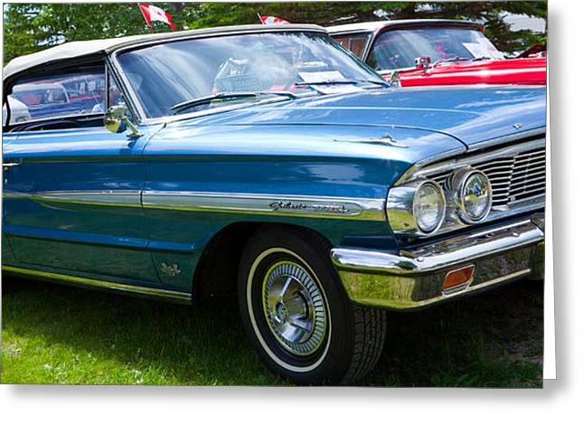 Ford Galaxie 520 Xl Greeting Card by Mick Flynn