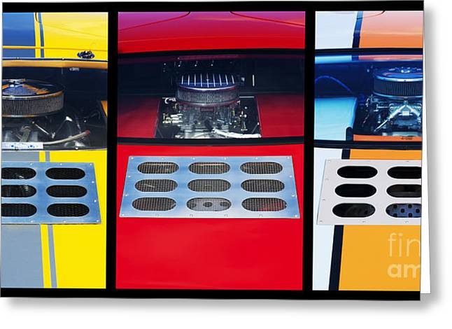 Ford Gt40 Greeting Card by Tim Gainey