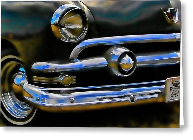 Ford Hot Rod Greeting Card by Ron Roberts