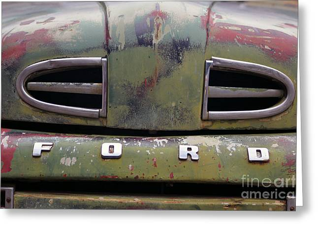 Ford  Greeting Card by Juls Adams