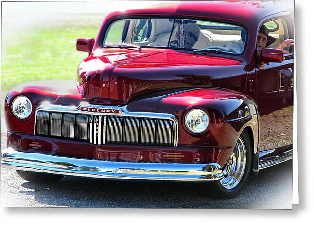 Ford Mercury Eight Greeting Card