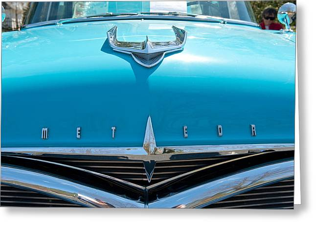 Ford Meteor Greeting Card