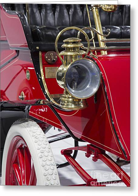 Greeting Card featuring the photograph Ford Model A by Jim West