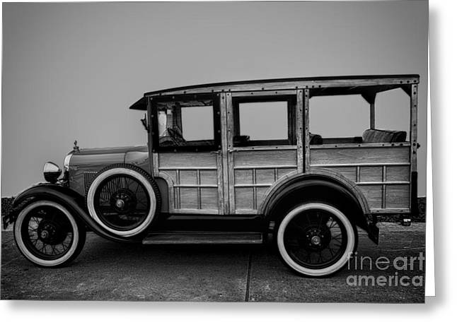 Ford Model A Station Wagon 1930 Greeting Card