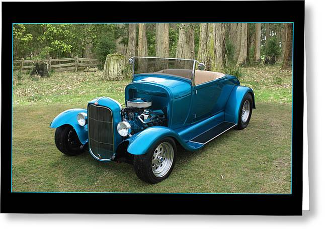 Greeting Card featuring the photograph Ford Roadster by Keith Hawley