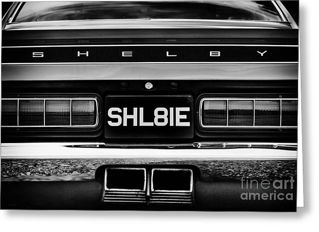 Ford Shelby Mustang Gt350 Greeting Card by Tim Gainey