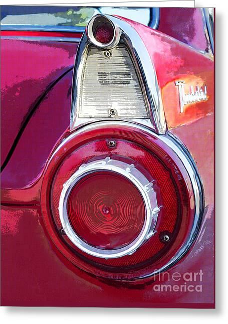 Ford Thunderbird Greeting Card