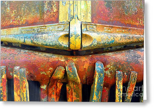Ford Tough Greeting Card by Lauren Leigh Hunter Fine Art Photography
