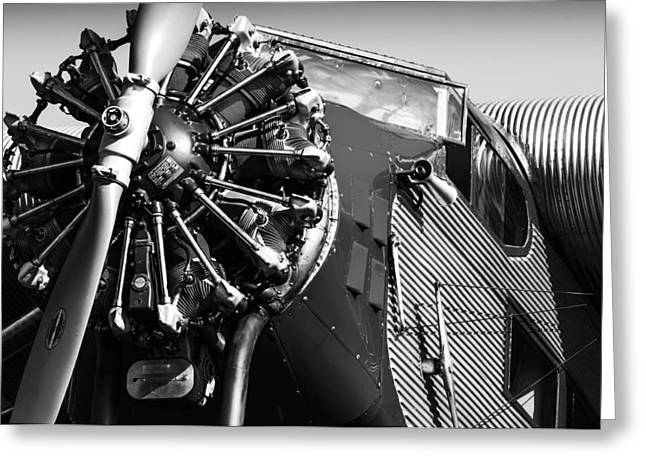 Ford Tri-motor Greeting Card