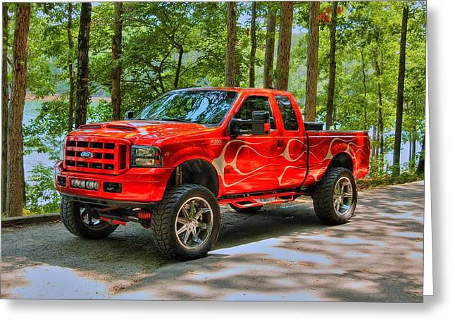 Ford Truck 01 Greeting Card
