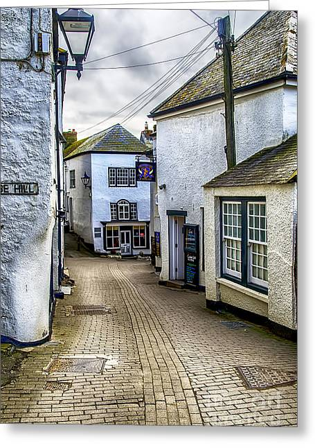 Fore Street Port Isaac Greeting Card
