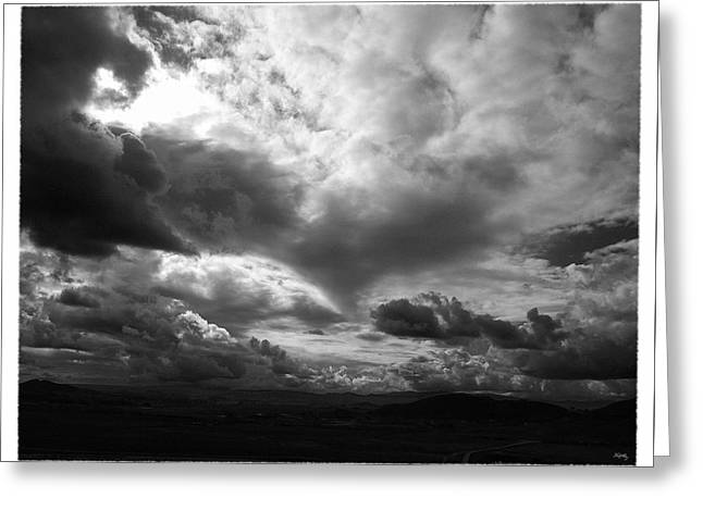 Foreboding Greeting Card by Glenn McCarthy Art and Photography