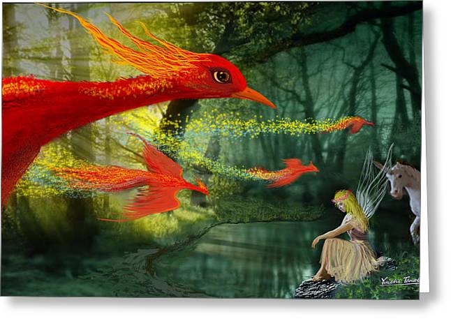 Forest Fantasy 1 Greeting Card