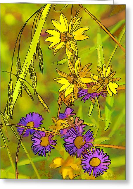 Forest Flora Greeting Card