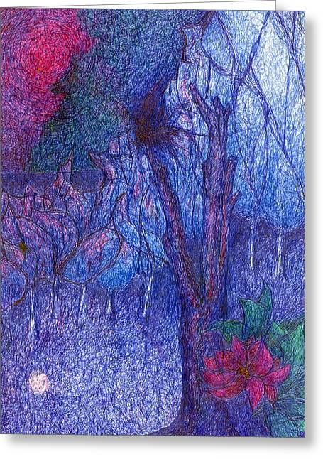 Forest Flower Greeting Card