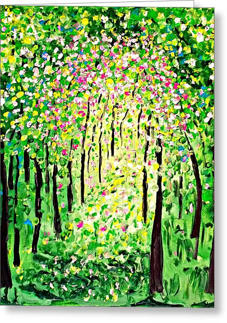 Forest Gifts Greeting Card