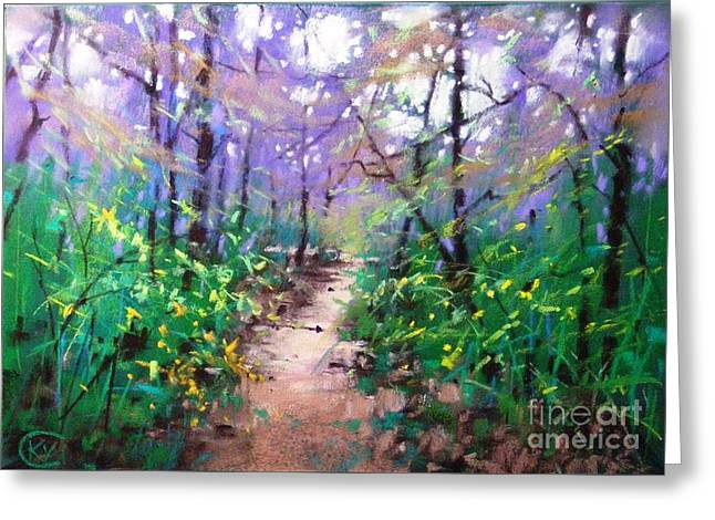 Forest Of Summer Greeting Card