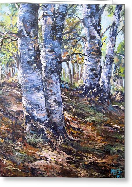 Forest Walk Greeting Card