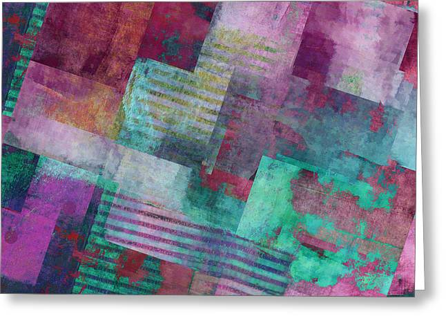 Forever - Abstract Art  Greeting Card