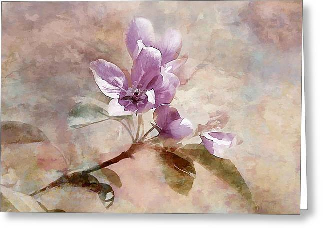 Greeting Card featuring the photograph Forever Blossom by Elaine Manley