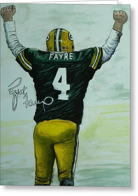 Forever Favre Greeting Card