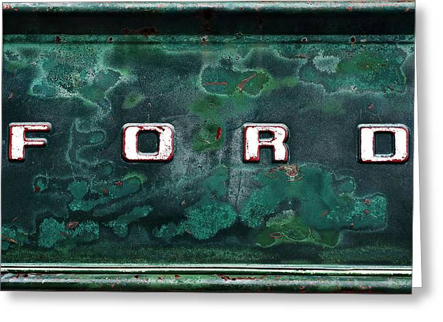 Forever Ford Greeting Card by Denise Harrison